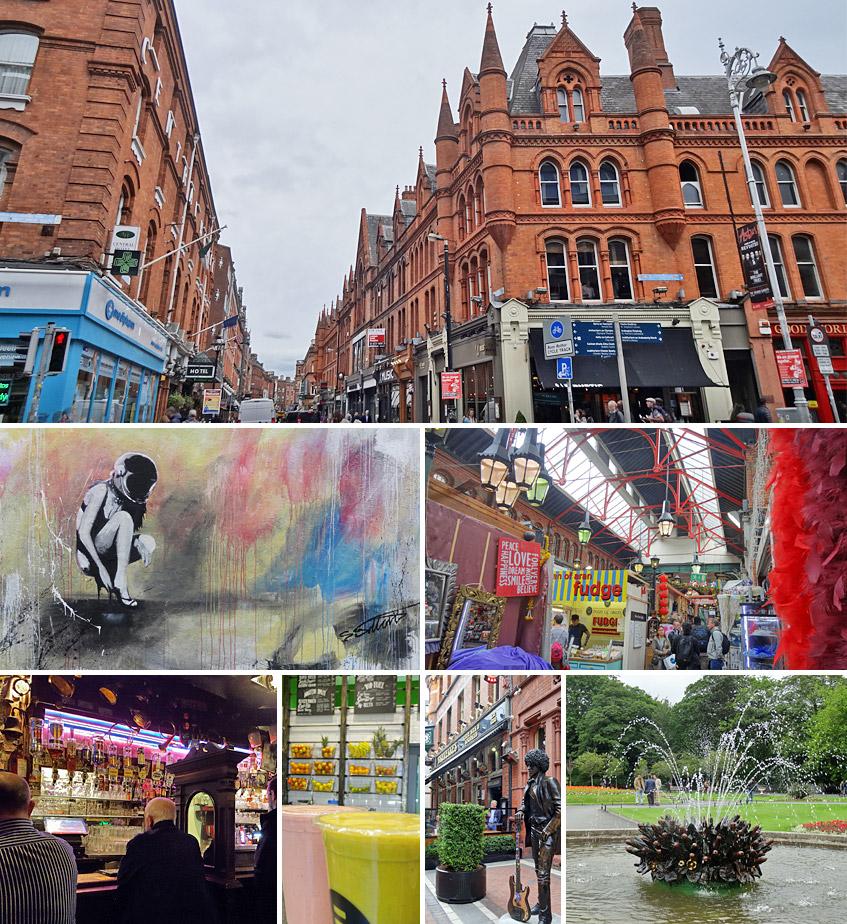 Rund um die Grafton Street in Dublin