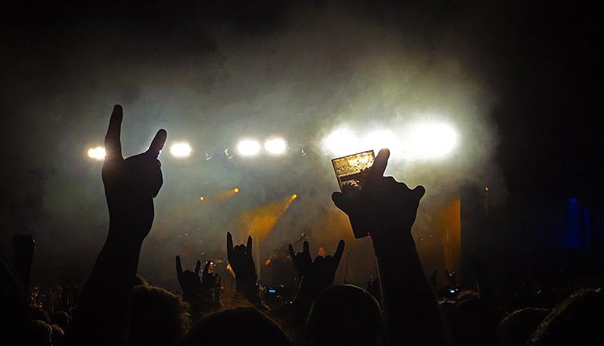 Coole Konzerte im Zelt