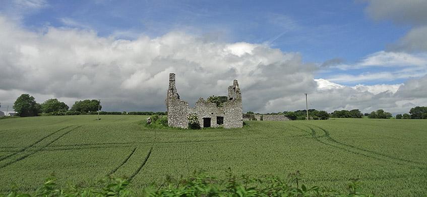 Auf dem Weg von Glendalough nach Kilkenny