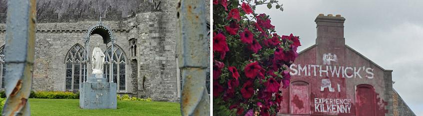 Kilkenny - Kirche und Brauerei