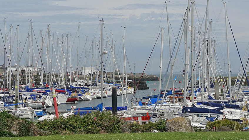 Yachthafen in Howth