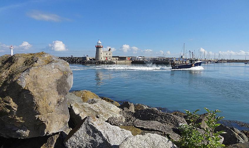Hafen von Howth