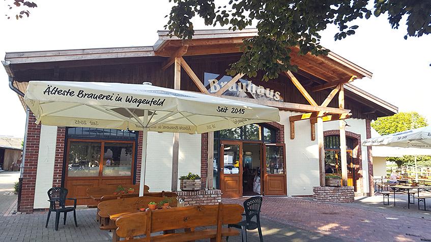 Älteste Brauerei in Wagenfeld - seit 2015