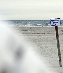Strandkorbgrenze