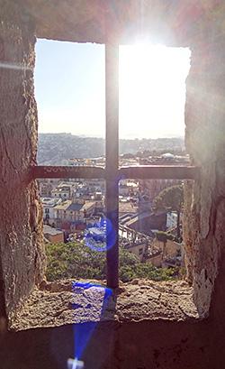 Blick von St. Elmo