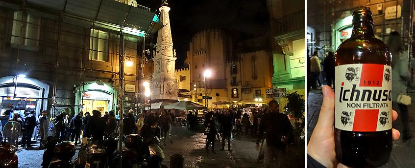 Abends am Piazza Domenico