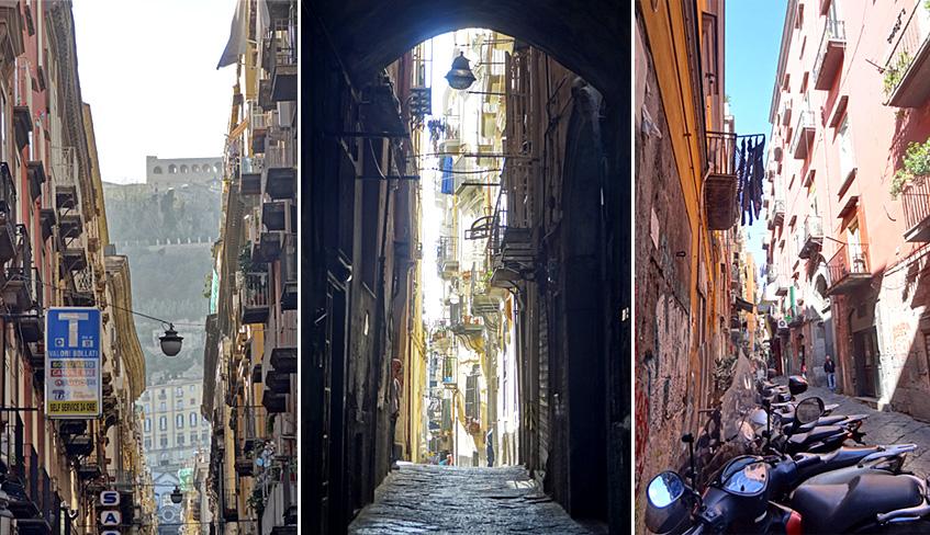 Neapels Häuserschluchten