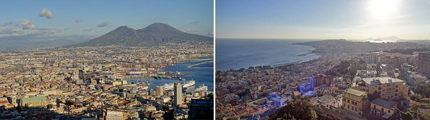 Aussicht von St. Elmo - Blick auf Neapel