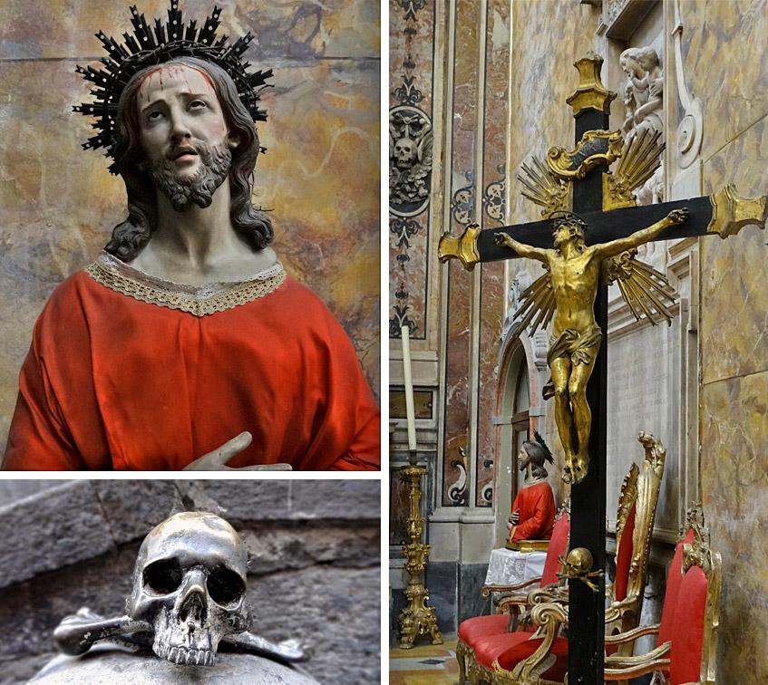 Neapel - Fegefeuer-Kirche