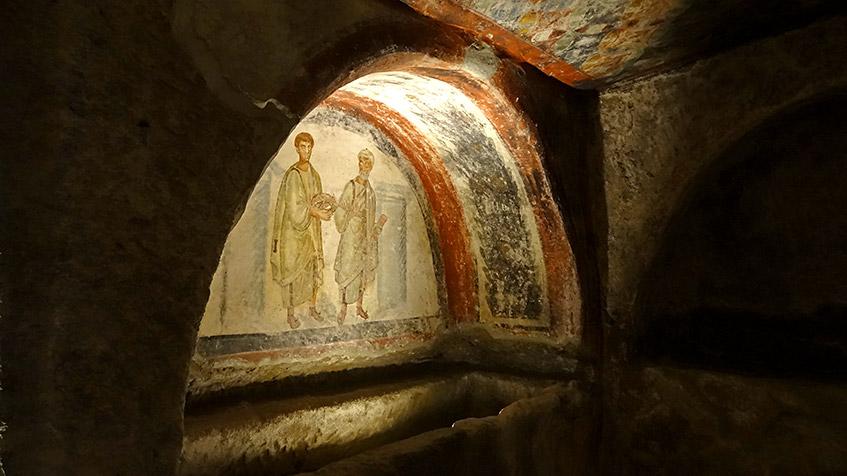 Neapel - Katakomben von San Gennaro