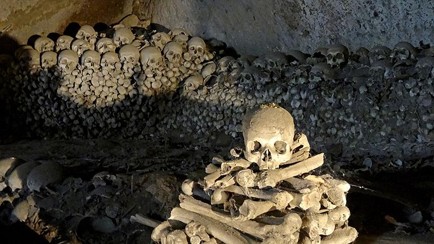 Neapel - Friedhof Fontanelle
