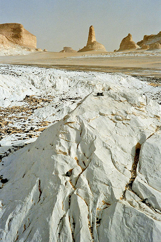 Weiße Wüste - auf dem Weg nach Farafra