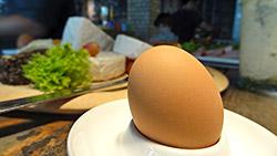 Und jeden Tag ein Ei ...