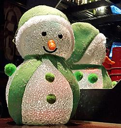 Lustiger Schneemann - der Namensgeber