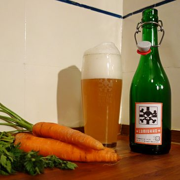 Lumiukko, das Möhren-Bier