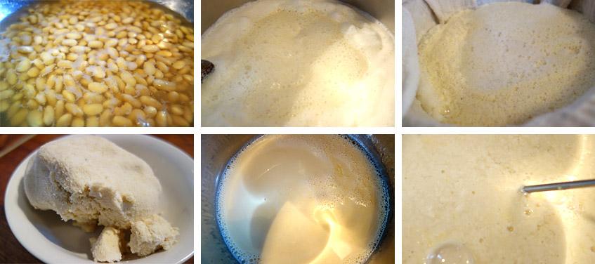 Tofu selbst gemacht - Schritt für Schritt