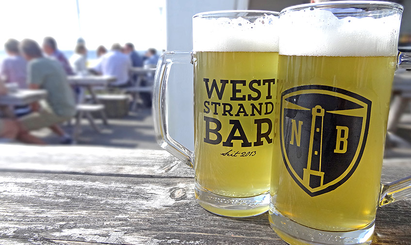 West Strand Bar auf Norderney