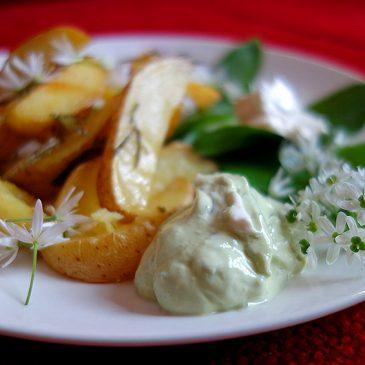 Vegane Bärlauch-Mayo