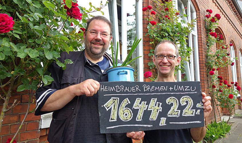 Satte 1.644,22 Euro sind im Suppentopf
