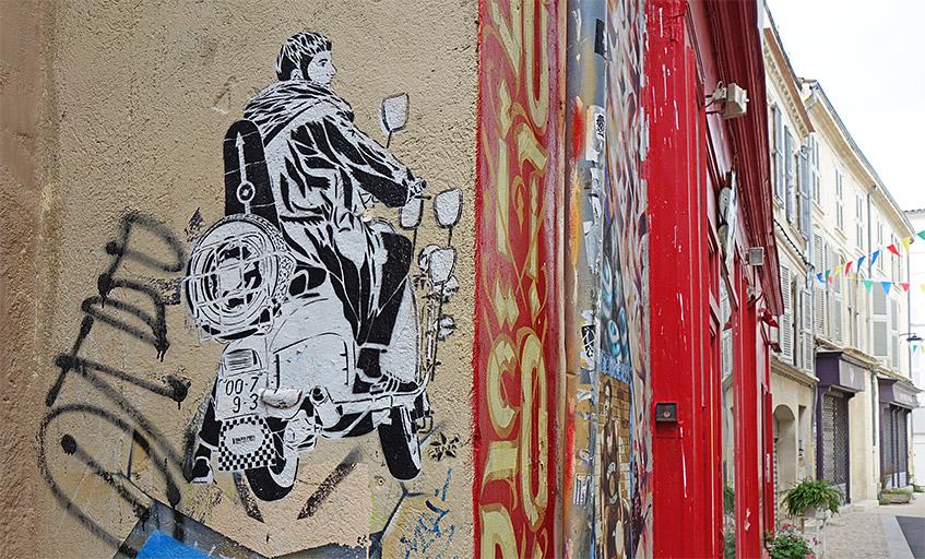 Streetart in Avignon