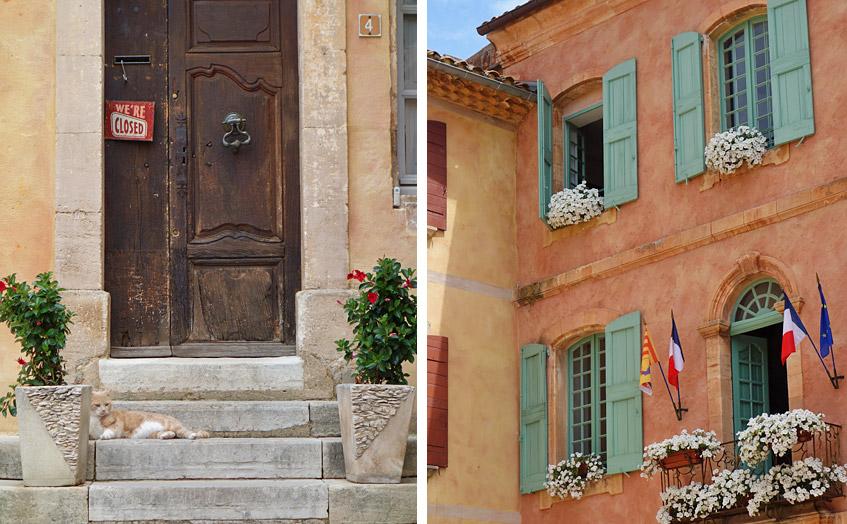 Ruhe mitten in Roussillon