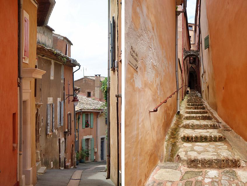 Farbenpracht in Roussillon