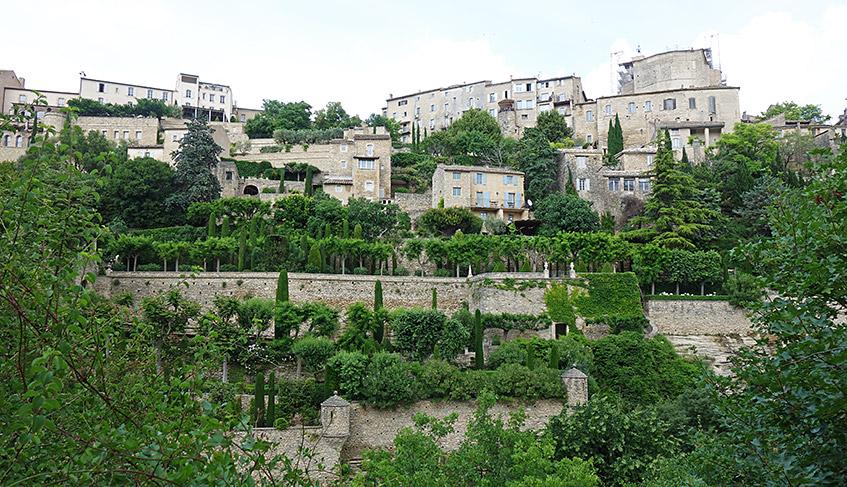 Gordes - Dorf auf dem Hügel