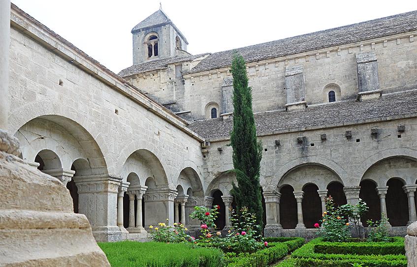 Innenhof der Abbaye
