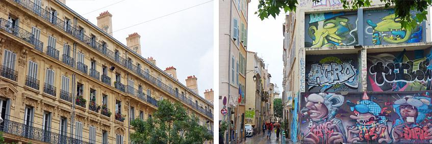 Marseille - um und im Panier-Viertel