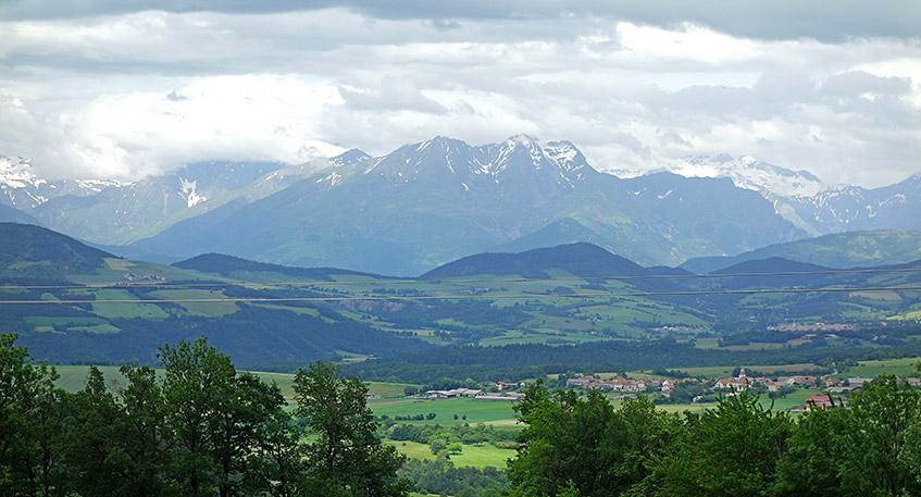 An den Alpen vorbei