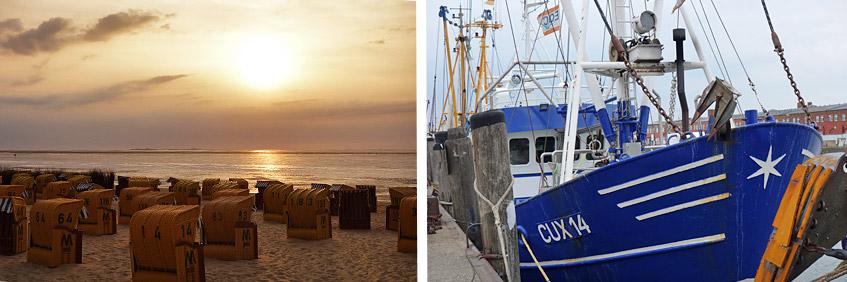 Chillen in Cuxhaven - das Ende der Reise