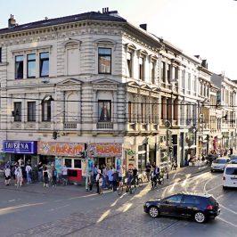 """Das Siewall-Eck, Zentrum des Bremer """"Viertel"""""""