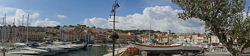Der Hafen von Cassis