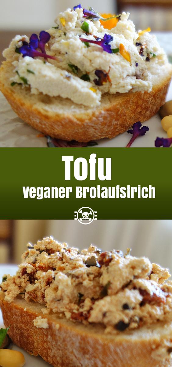 Tofu - veganer Brotaufstrich