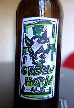 Greenhorn - mal mit gemaltem Etikett