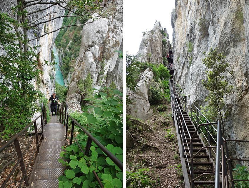 Treppen ohne Ende - wer die wohl mal bauen musste?
