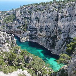 Das Wasser, ein Traum, in der Calanque d'En Vau