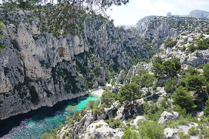 Calenque d'En-Vau - schwer zugängliches Paradies