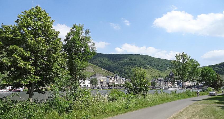 Rückweg nach Bernkastel-Kues