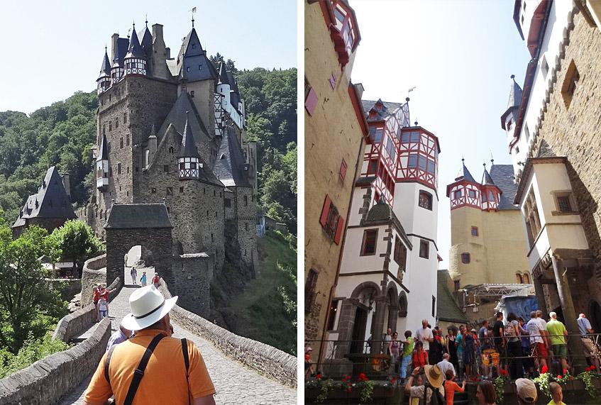 Schluss mit Ruhe - auf der Burg Eltz