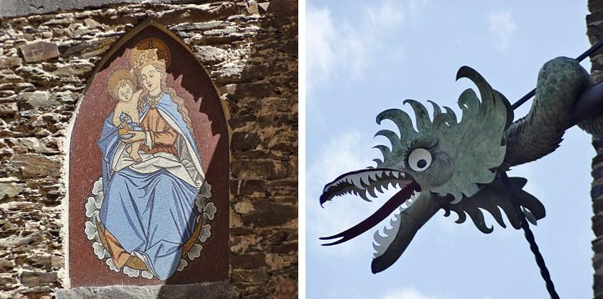 Kunst an der Burg Eltz
