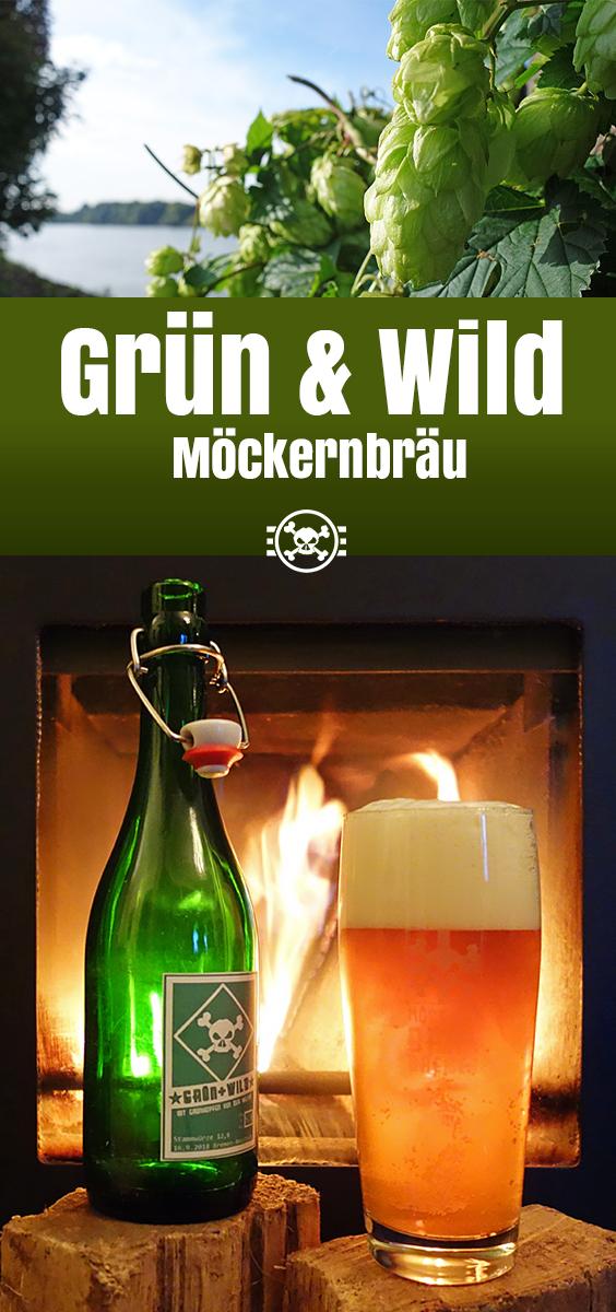 Grün & Wild Möckernbräu Stadionbier