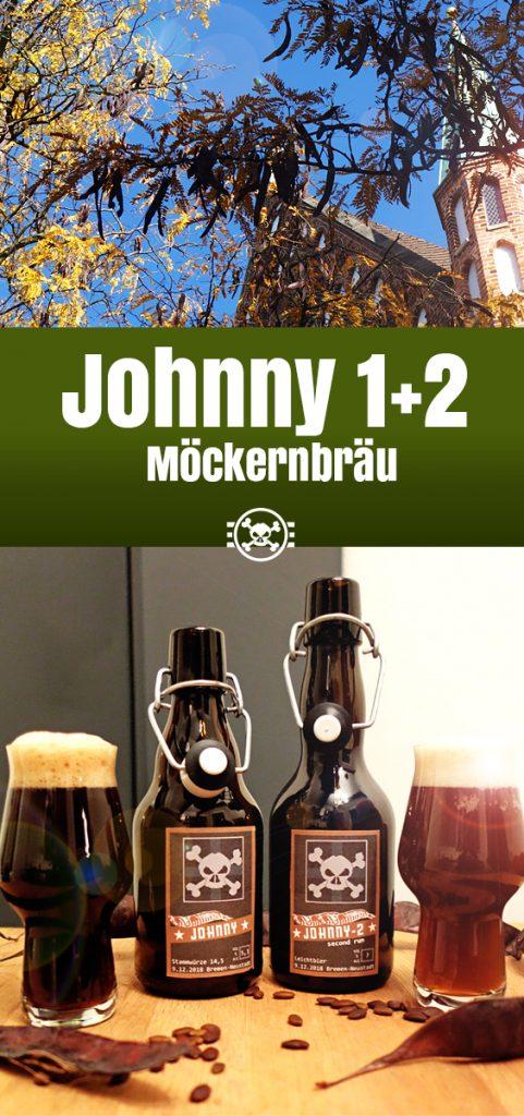 Johnny - Porter mit Johannisbrot von Möckernbräu