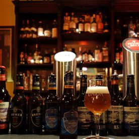 Historische Bar des Gastfeld