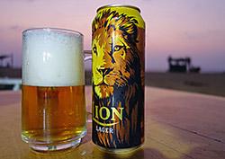 Das erste Lion des Urlaubs