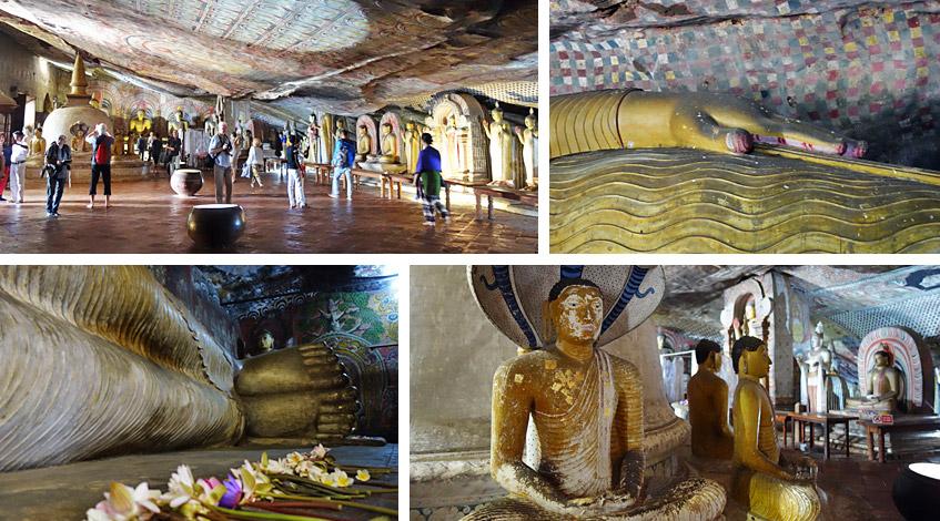 Tempel in Höhlen: Kühl und still und einzigartig