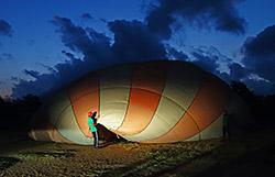 Versuch einer Ballonfahrt