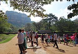 Gruppenalarm in Sigirya