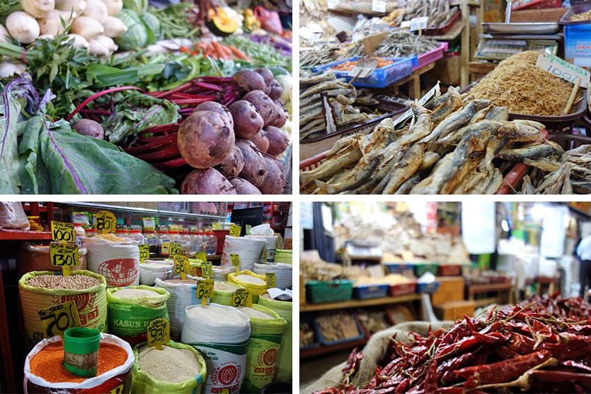 Auf dem Markt von Kandy