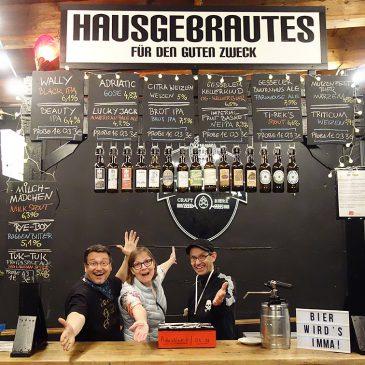 Hausgebrautes auf den Craft Bier Tagen